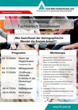 5. Praxistag 2013 Plakat