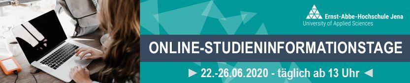 OnlineStudieninformationstage 2020