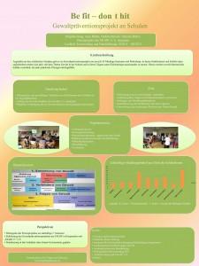 2. Platz des Posterwettbewerbs im Rahmen des Tages der Forschung der EAH Jena
